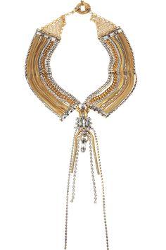 22-karat gold-plated necklace