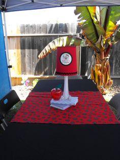 Hello Kitty Nerd Preteen Party centerpiece
