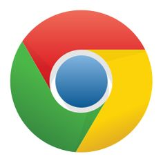 Google Chrome is yet another browser. the logo is very unique and it incorporates all the colors that we know from google into the logo.