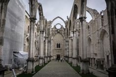 Head for the hills to find the best of #Lisbon - via Skyscanner 20-03-2017 | Lisbon is a hidden gem and its true beauty is found in the hills. Photo: Carmo Convent