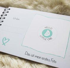 Dieses Baby Erinnerungsbuch bietet viel Platz für alle Höhepunkte im ersten Lebensjahr deines Babys: für Fotos, zum Eintragen & zum Kreativsein