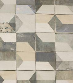 Smink Tiles After Lowry Pattern, Wabi-Sabi Tiles from Dutch Fashion Designer Marianne Smink