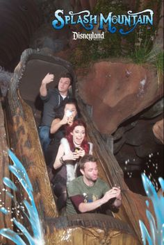 These are awesome! (Click through! They went on different rides.) I want to hang out with Chris Hardwick and Nathan Fillion in an amusement park now.