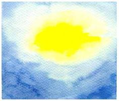 Waldorf ~ 1st grade  ~ Painting ~ Lessons in the Arts for the Elementary School Years ~   Beginning with the Primary Colors of Yellow and Blue ~ homeschool curriculum sample