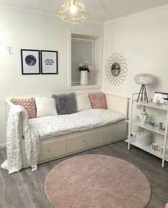 Teen Girl Bedrooms, a cool host in girl desire for a cool and personalized room to affirm their self, note the concept number 8717736575 Cute Bedroom Decor, Bedroom Decor For Teen Girls, Room Design Bedroom, Girl Bedroom Designs, Room Ideas Bedroom, Home Room Design, Small Room Bedroom, Girl Bedrooms, Daybed Room