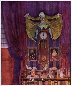 Artuš Scheiner illustration for Hoffmann's The Nutcracker and the Mouse King (1924)
