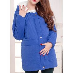 Casual Hooded Solid Color Maternity Long Sleeve Women's Coat Maternity Coat, Pregnancy Outfits, Coats For Women, Sportswear, Costumes, Shirt Dress, Formal, Stylish, Long Sleeve