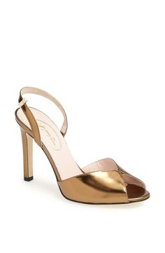 """""""The simple slingback of the Slim is a timeless design. And the bronze leather has an antique quality of it's own."""" – SJP 