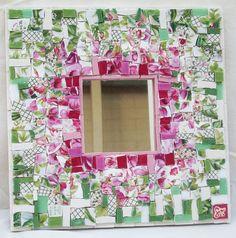 Zebra Mosaic. Customised mosaic artwork, feature walls, artist and designer Sophie Verrecchia - Gallery of furniture mosaic work
