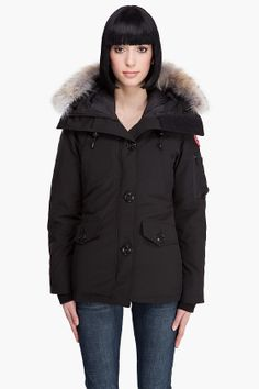 Canada Goose' Canada Goose' 2015 mixed material down coat woman red cheap
