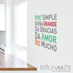 Inmobiliaria Ideas, Ideas Para, Murals For Kids, More Than Words, Carpe Diem, Home Organization, Slogan, Baby Room, Office Decor