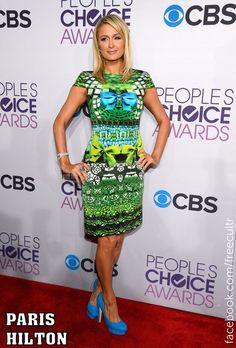 Paris Hilton at the 2013 People's Choice Awards!