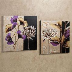 Leaf canvas art set canvas wall decor, art story, leaf art, gourd a Painting Art Lesson, Art Painting, Leaf Art, Watercolor Flowers Paintings, Flower Art, Art Set, Mural Art, Art, Canvas Art
