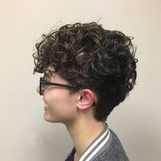 Short Curly Hairstyles For Women, Curly Hair With Bangs, Haircuts For Curly Hair, Curly Hair Cuts, Short Hair Cuts For Women, Easy Hairstyles, Curly Hair Styles, Natural Hair Styles, Latest Hairstyles
