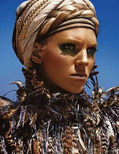 M: Devon Windsor, P: Giampaolo Sgura, S: Christiane Arp (Vogue Germany June 2014)