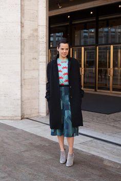 Almudena Guerra, Fashion Editor at Harper's Bazaar