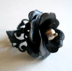 BLACK ROSEFree Shipping Three Dimensional by YOUarewhatyouDREAM, $24.00