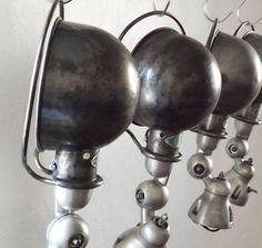 Applique Jieldé acier brossé - Midiune - Mobilier industriel et vintage - Chaises, tabourets,