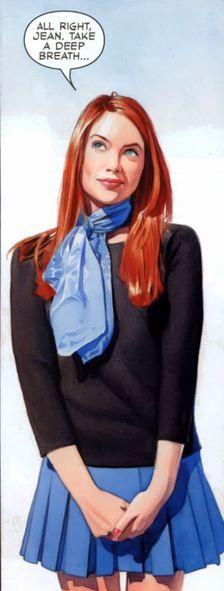 Jean Grey by Mike Mayhew.