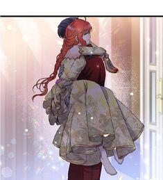 Manhwa, Anime Couples Manga, The Villain, King Queen, I Love Him, Webtoon, Cute Couples, Queens, Art Drawings