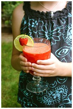 Strawberry Chillers -- these look amazing!