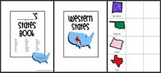 US state booklet printable.