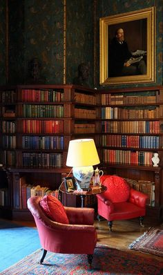 The Library @thedailybasics. #reading #books