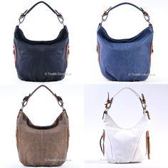 Teraz również w ofercie wersja czarna i inne modne kolory. Zobacz więcej w naszym sklepie internetowym http://torebki-damskie.eu/czarne/1294-czarna-torebka-jasnobrazowe-dodatki-suwaki-na-bokach.html