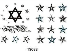 12-unids-lote-2015-nueva-sexy-little-estrella-tatuaje-pegatinas-Temporary-Tattoos-Body-Art-Stencil-Designs.jpg (573×433)