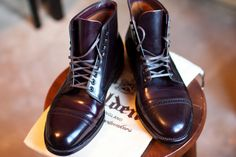 Alden boots. #shoes