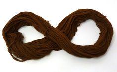 #Brown #thin #yarn #merino #wool 1 ply #spun #eco friendly by feltbasic, $14.00