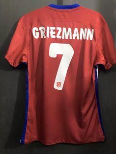 e36a26bdd 2016 Champions League Final Antoine Griezmann 7 Match Issue Soccer Jersey  Football Shirt Camiseta De Fútbol Voetbal Jersey Maillot De Foot Fußball  Trikot ...