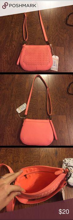 Bright coral purse Small summer purse Bags Crossbody Bags