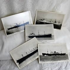5 Black & White Photo Postcards of by 3rdshelffromthetop on Etsy, $10.00