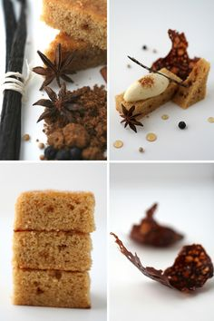 Seven Spice Ice Cream with Yogurt and Brown Sugar Cake :: Cannelle et ...