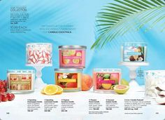 Avon candles smell really good!  They have 3 wicks and burn evenly.  Try your own mixology and create your own scents.  @http://avon4.me/2poW9ka