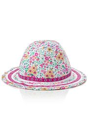 Flora Print Reversible Hat