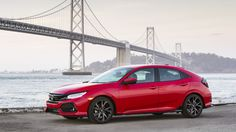 2017 Honda Civic US.  Hatchback >>> 1.5-liter turbocharged four-cylinder, but it makes 180 horsepower (134.2 kilowatts) compared to 174 hp (129.8 kW) in the other models. Torque jumps to 177 pound-feet (240 Newton-meters) with a six-speed manual or 162 lb-ft (219.6 Nm) with the CVT. Regular Civics make 167 lb-ft (226.4 Nm) with a manual transmission and 162 lb-ft with a CVT.