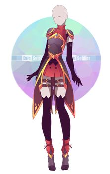Custom outfit commission 67 by Epic-Soldier
