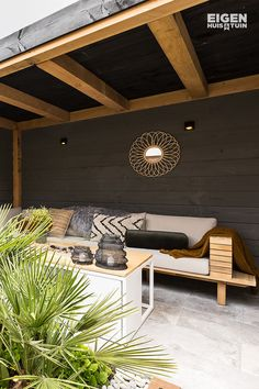 Outdoor Decor, Outdoor Sectional Sofa, Outdoor Rooms, Outdoor Lounge, Outdoor Furnishings, House Interior, Outdoor Sofa, Apartment Patio Decor, Home Interior Design