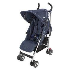 Maclaren Quest Baby Compact Lightweight Single Stroller Denim Indigo NEW Best Double Pram, Double Prams, Double Strollers, Baby Strollers, Fisher Price, Best Prams, City Mini Gt, Single Stroller, Umbrella Stroller