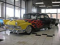 Ford : Fairlane Pro Touring 1957 Black Pro Touring - http://www.legendaryfinds.com/ford-fairlane-pro-touring-1957-black-pro-touring/