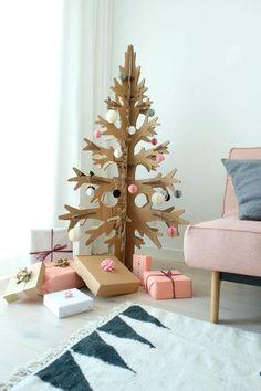 Prepara la decoración de Navidad reciclando cajas