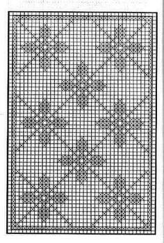 How to Crochet Wave Fan Edging Border Stitch Filet Crochet Charts, Crochet Diagram, Knitting Charts, Crochet Motif, Crochet Doilies, Crochet Patterns, Crochet Squares, Crochet Curtains, Crochet Tablecloth