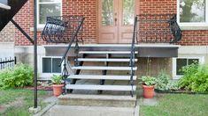 Réparation de balcon et escalier Construction, Outdoor Structures, Balconies, Building