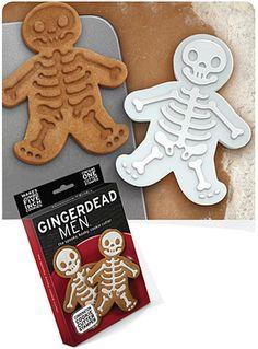 Gingerdead Man Cookie Cutter #gingerbread #cookiecutter #skeleton