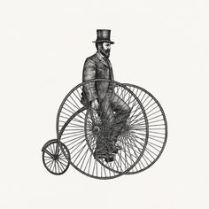Yokaona man on bike illustration Study Architecture, School Architecture, Work For Hire, Bike Illustration, Study Design, Real Model, Perspective Drawing, Vintage Typography, Technical Drawing