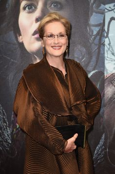 """Meryl Streep attends the gala screening of """"Into The Woods"""" at The Curzon Mayfair on January 7, 2015 in London, England."""
