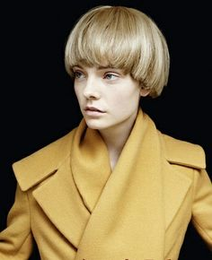 Joanna Lumely - The Purdey cut, as named after Lumley's character in The Avengers, became one of ...