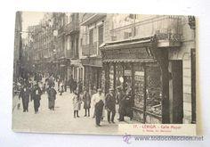 Lleida, carrer Major
